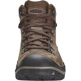 Keen Feldberg WP Calzado Hombre, dark earth/cascade brown